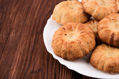 Homemade biscuits Royalty Free Stock Images
