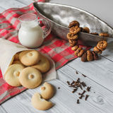 Homemade bisquits Royalty Free Stock Image