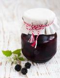 Homemade blackberry jam Royalty Free Stock Photo