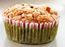 Homemade Blueberry Muffin for Christmas Stock Image
