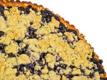 Homemade Blueberry Pie Royalty Free Stock Photos