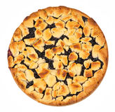 Homemade blueberry pie Royalty Free Stock Photos