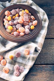 Homemade bonbons Stock Images