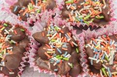Homemade bonbons Stock Photography