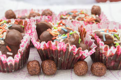 Homemade bonbons Royalty Free Stock Photography