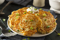 Homemade Boxty Irish Potato Pancakes Royalty Free Stock Photo