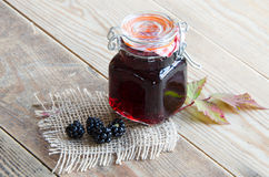 Homemade Bramble Jelly Royalty Free Stock Images