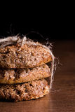 Homemade bran bread Stock Image