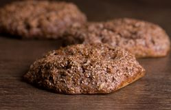 Homemade bran bread Royalty Free Stock Photos