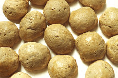 Homemade Bread Balls ( Buns ) Stock Images