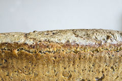 Homemade bread with cranberries and other additives. Polish cuisine. Royalty Free Stock Images