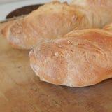 Homemade bread. Hot and tasty Stock Photo