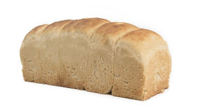 Homemade bread isolated Royalty Free Stock Photo
