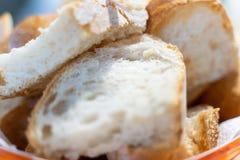 Homemade bread from italian kitchen royalty free stock photo