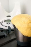 Homemade bread from kitchen robot Royalty Free Stock Images