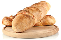 Homemade Bread On Wooden Breadboard Royalty Free Stock Photography