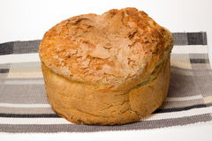 Homemade bread with golden crust Royalty Free Stock Image