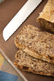 Homemade bread process Royalty Free Stock Photo