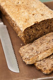 Homemade bread process Royalty Free Stock Image