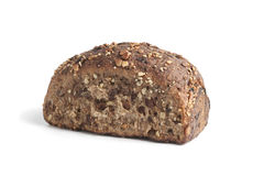 Homemade bread with raisins and nuts Royalty Free Stock Images