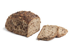 Homemade bread with raisins and nuts Stock Photography