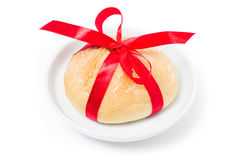 Homemade bread roll Stock Photos