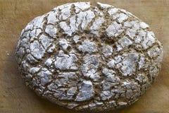 Homemade bread. Homemade rye bread on a Board Stock Image