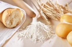 Homemade bread scene Stock Image