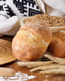 Homemade bread scene Royalty Free Stock Image