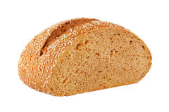 Homemade Bread With Sesame Seeds Stock Photo