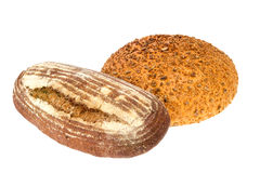 Homemade bread with sesame and sunflower seeds Stock Image