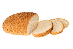 Homemade bread with sesame and sunflower seeds Royalty Free Stock Photos