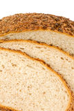 Homemade bread with sesame and sunflower seeds Stock Photos