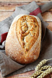 Homemade bread on the table Stock Photography