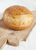 Homemade bread on the wooden board Stock Photo