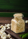 Homemade breadcrumbs Royalty Free Stock Photography