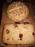 Homemade breads stock photos