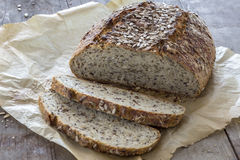 Homemade brown bread Royalty Free Stock Photo