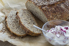 Homemade brown bread Royalty Free Stock Photography