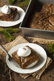Homemade Brown Gingerbread Cake Royalty Free Stock Images