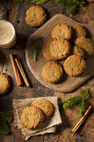 Homemade Brown Gingersnap Cookies Royalty Free Stock Photography