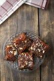 Homemade brownies Royalty Free Stock Photo
