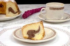 Homemade bundt cake Royalty Free Stock Image