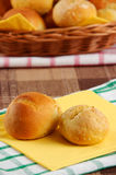 Homemade buns Royalty Free Stock Images