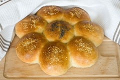 Homemade buns Stock Photo