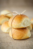 Homemade buns Royalty Free Stock Photos