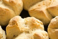 Homemade buns. Group of fresh homemade buns Stock Photography
