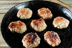 Homemade burgers Royalty Free Stock Photography