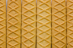 Homemade butter biscuits. Homemade sweet butter biscuits close-up royalty free stock photos