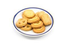 Homemade butter cookies Stock Photos